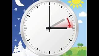 !POZOR! Změna času! Zimní čas→letní č. 2018 (2h→3h)