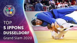 Top 5 ippons from #JudoDüsseldorf 2020!