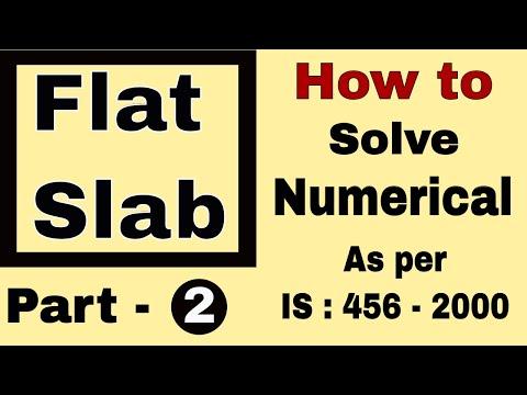 Flat Slab Design Example (Part 1)