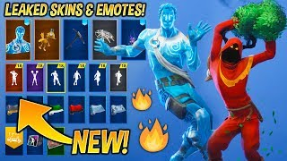 'NOUVEAU' Fuite Fortnite Skins -Emotes..! (Christmas Raven, Love Ranger, Red Knight, Cheer up..)