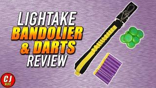 Lightake Review | Lightake Bandolier, Darts, Discs Ep. #2