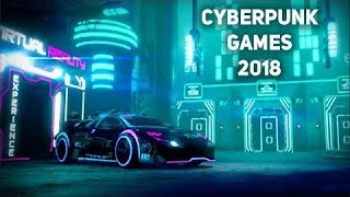 Top 10 Cyberpunk Games for iOS & Android 2018 (OFFLINE)