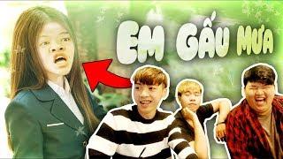 KHÔNG CƯỜI KHÔNG LÀM NGƯỜI!! (REACTION: Em gái mưa parody - Huỳnh Lập)