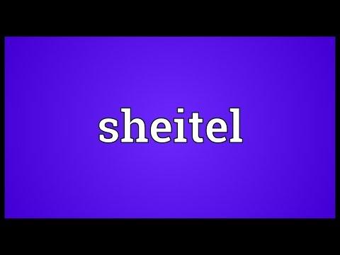 Header of sheitel