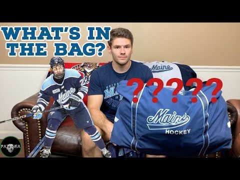 What's In My NCAA College Hockey Bag?