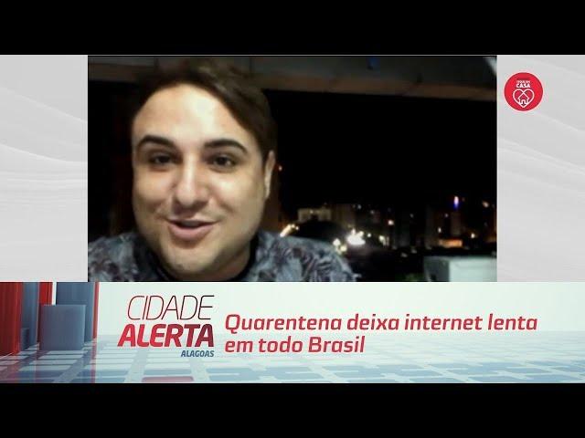 Quarentena deixa internet lenta em todo Brasil