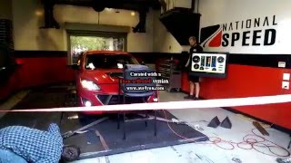 CorkSport Turbo Mazdaspeed 3 DYNO