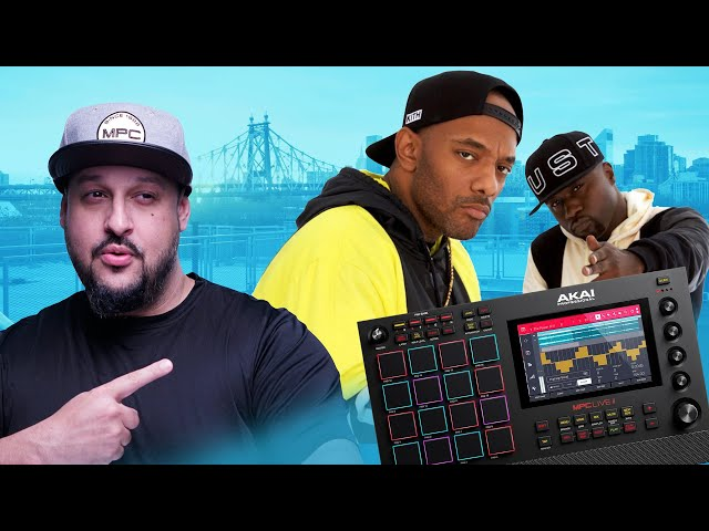 Making a Sample Beat for Mobb Deep with the MPC Live 2!!! | MPC Live/One Sample Beatmaking