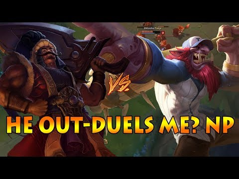 TRYNDAMERE VS TRUNDLE TOP - DIAMOND SOLOQ: WINNING WITH A DIFFERENT APPROACH [Patch 7.14]
