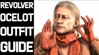 RED DEAD REDEMPTION 2 - REVOLVER  OCELOT OUTFIT GUIDE (OUTFIT, HAIR AND GUNS)