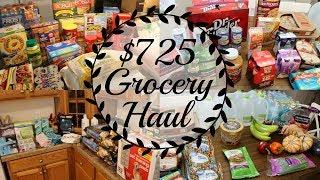 $725 Grocery Haul    Sam