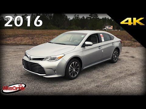 2016 Toyota Avalon XLE - Ultimate In-Depth Look in 4K