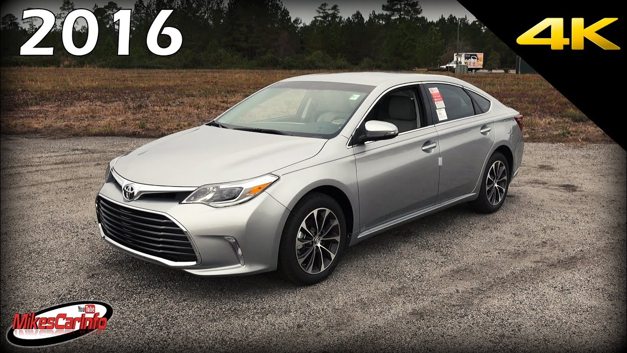 2016 Toyota Avalon XLE - Ultimate In-Depth Look in 4K - YouTube