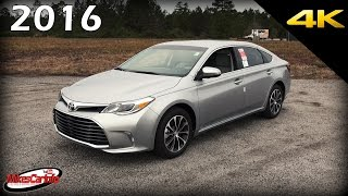 2016 Toyota Avalon XLE - Ultimate In-Depth Look in 4K