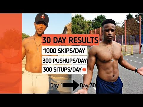 I Trained Like & Pro Athlete For 30 days, Body Transformation