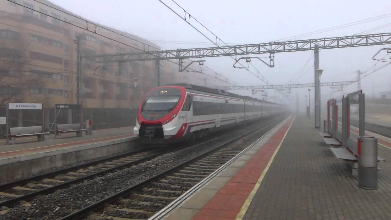 Renfe civia 465 en tres cantos saliendo de la niebla youtube - Aticos en tres cantos ...