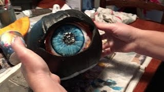 Alexas Creepy Eye Halloween Pumpkin