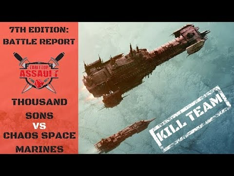 Thousand Sons vs Chaos Space Marines - Kill Team Battle Report