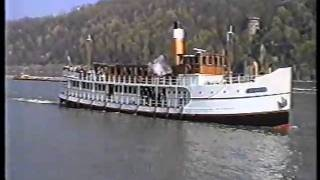 Dampfschiffe / Steamboats in Koblenz 1997 mit Dampforgel!! / with steam operated organ!!