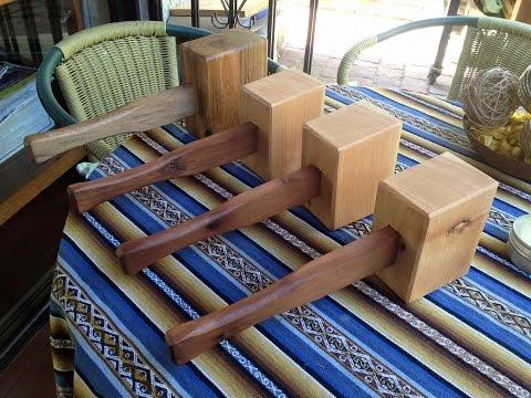 Producción Mazos Carpinteros - Consejos