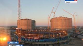 Благодаря Сабетте Ямал может стать крупнейшим логистическим центром(Подробнее: http://vesti-yamal.ru/ru/vesti_arktiki/port_sabetta_stal_drayverom_torgovyih_karavanov_po_severnomu_morskomu_puti149563., 2015-09-18T15:20:48.000Z)