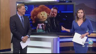 Ventriloquist Terry Fator performs at the Hawaii Theatre