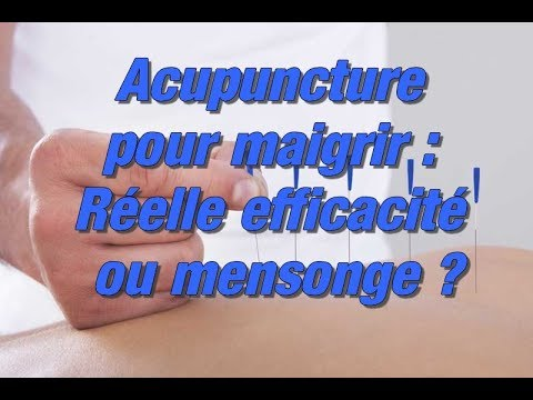 acupuncture pour maigrir mon avis acupuncture et perte. Black Bedroom Furniture Sets. Home Design Ideas