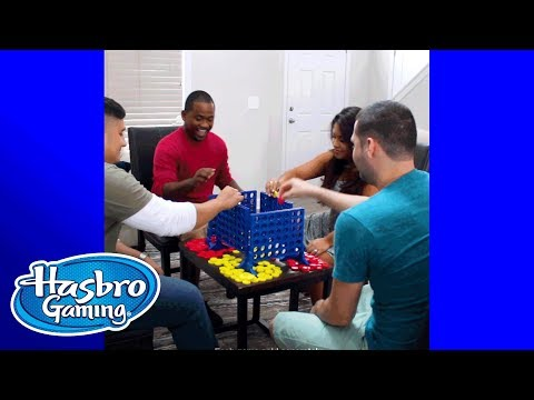 'Connect 4 & Musical Chairs' Raise the Fun - Hasbro Gaming