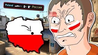 PRAWDZIWY POLAK W CS:GO! - FUNNY MOMENTS