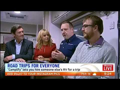 Camplify Australia On Sunrise Broadcast
