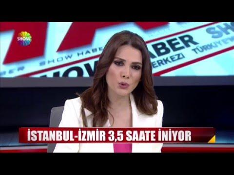 İstanbul-İzmir 3.5 saate iniyor