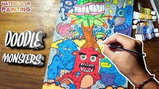 Doodle Monsters   Doodling Time