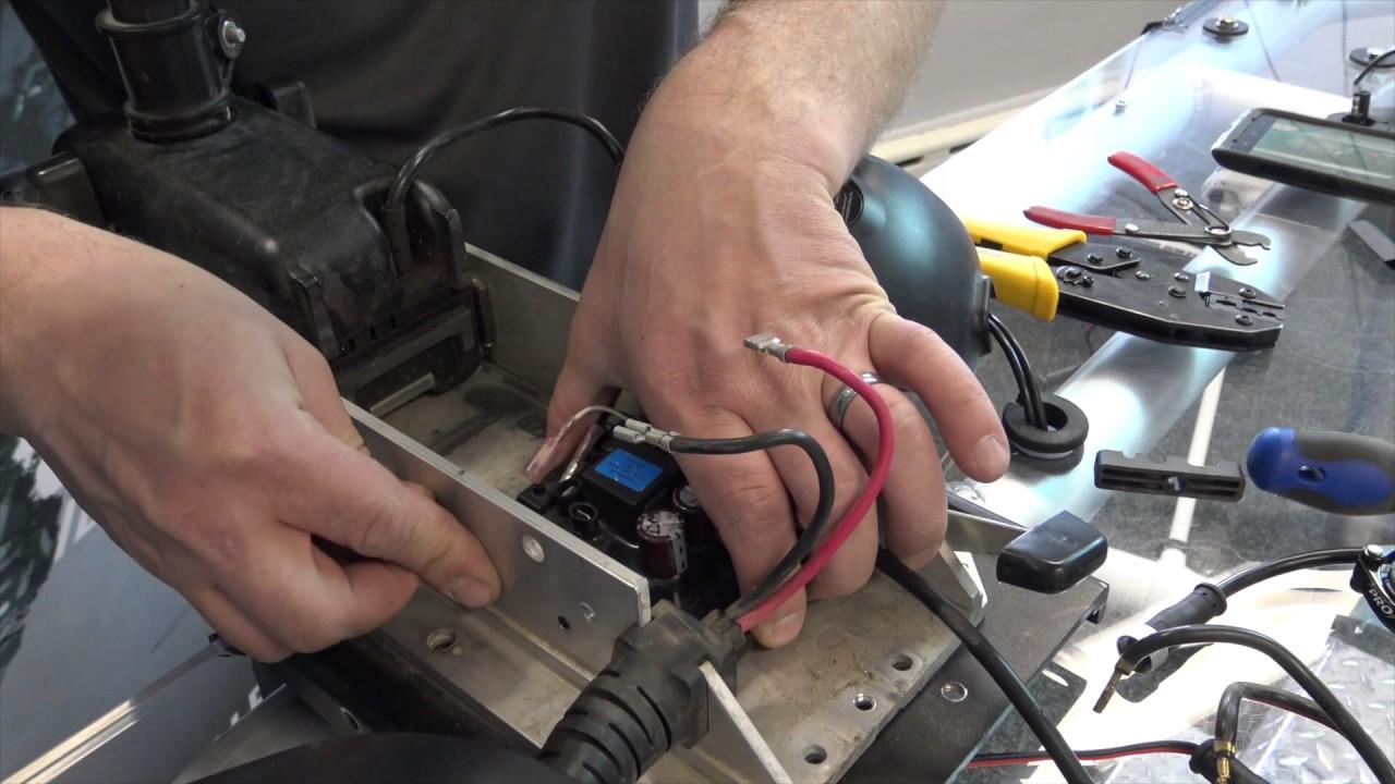 add pronav angler gps autopilot upgrade minn kota powerdrive (v1 Minn Kota Foot Pedal Diagram add pronav angler gps autopilot upgrade minn kota powerdrive (v1) to powerdrive v2