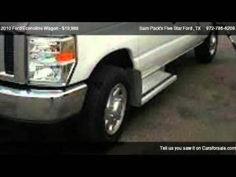 2010 ford econoline wagon xl for sale in carrollton tx 75006 youtube. Black Bedroom Furniture Sets. Home Design Ideas