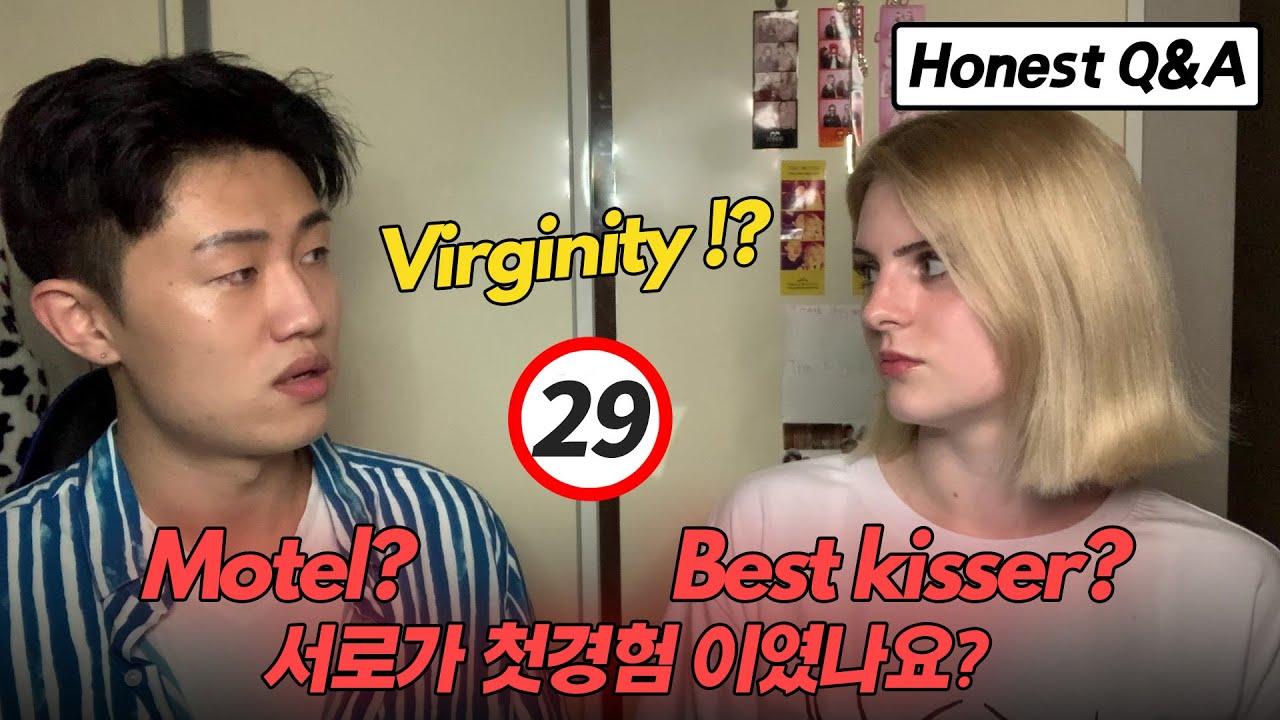 [Honest Q&A]  The Best Kisser? | Virginity? | Break up? | Past Relationships