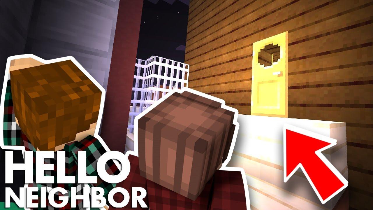 Minecraft Hello Neighbor - What Is Upstairs (Minecraft ...