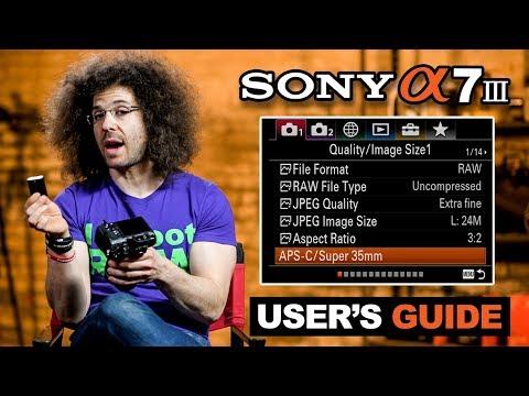 Sony a7 III User's Guide