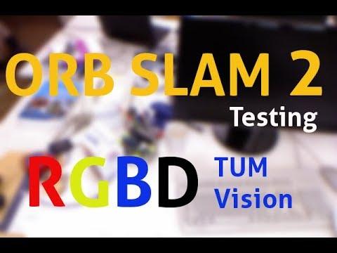 Mobile Robotics 12: Test ORB SLAM 2: Run RGBD SLAM Example TUM Dataset