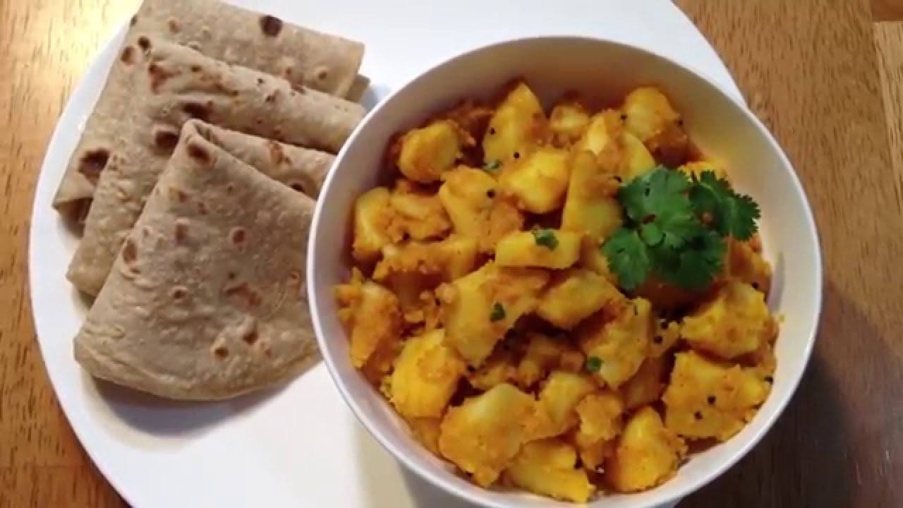 Quick and easy aloo sabzi without onion and garlic potato sabji quick and easy aloo sabzi without onion and garlic potato sabji recipe forumfinder Choice Image