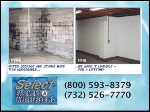 Select Basement Waterproofing Services (732) 526 7770