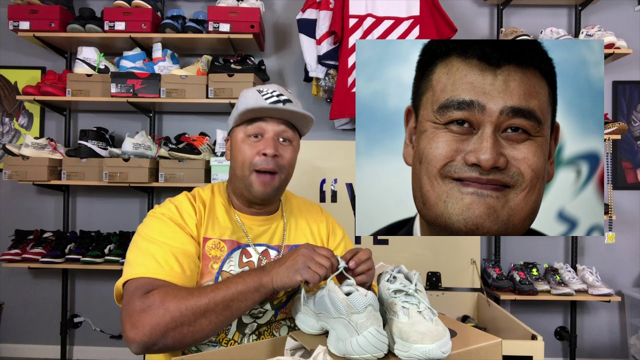 5bf52a9c34155 Yeezy 500 Salt Early Unboxing and Review - YouTube