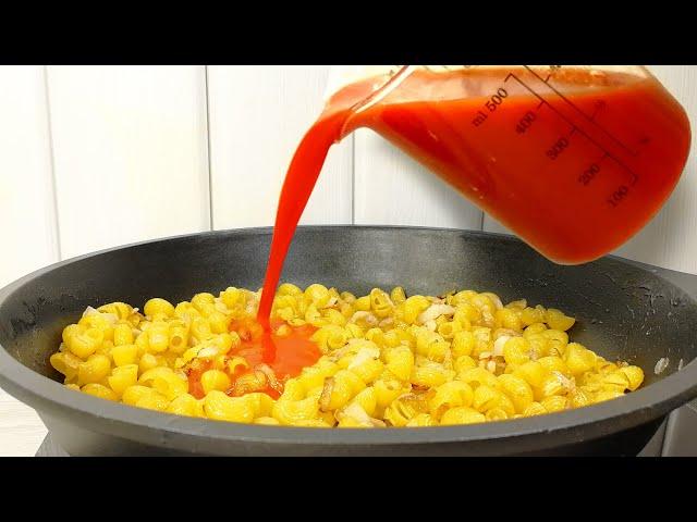 Когда совсем мало времени, готовлю ОБЕД на скорую руку! Одна сковорода и минимум ингредиентов.