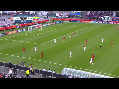 USA Myanmar 2015 U-20 World Cup Group A First Half Full Game USA FOX SPORTS