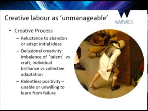 Uncreativity: the shadow side of creativity. Dr Chris Bilton, University of Warwick.
