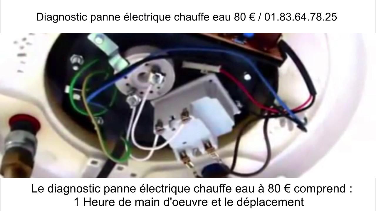 diagnostic panne electrique chauffe eau youtube. Black Bedroom Furniture Sets. Home Design Ideas