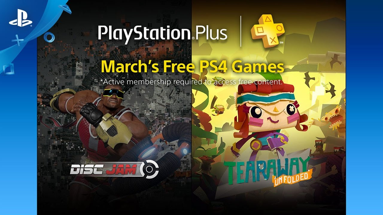 PlayStation Plus Free PS4 Games Lineup March 2017 - YouTube