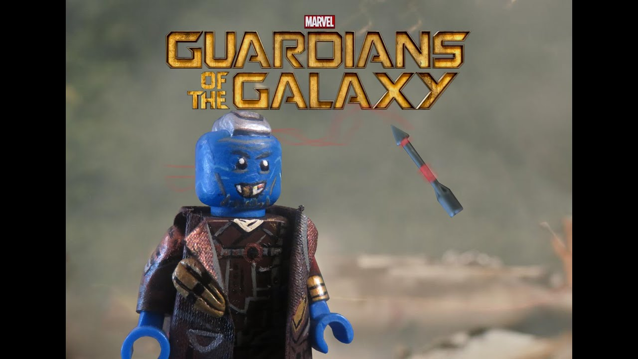 Yondu Custom Minifigure Marvel Universe Minifigures Guardians of the Galaxy