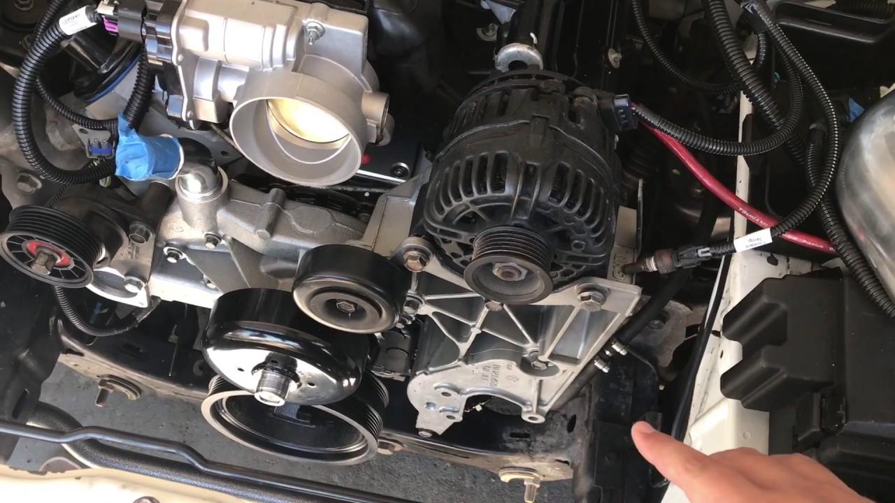 Chevy Colorado V8 LS LQ4 swap: turbo and more parts