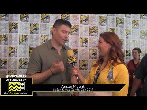 Anson Mount (Inhumans) at San Diego Comic-Con 2017