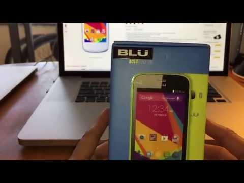 BLU Dash JR K Smartphone - Unlocked - White Unboxing